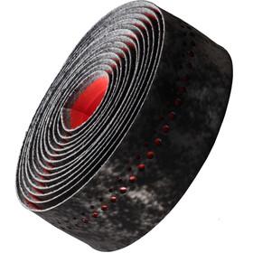 Bontrager Velvetack Nastro per manubrio, black/viper red
